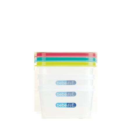 Set porta alimentos termaline de bebedue apilable