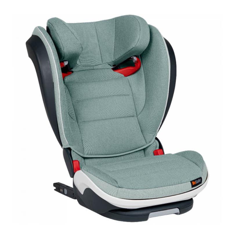 Silla auto izi flex s fix besafe en el color sea green