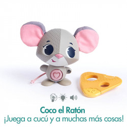 Coco el ratón, juguete interactivo wonder buddies de tiny love