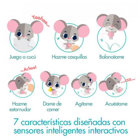 Coco el ratón, juguete interactivo wonder buddies de tiny love. 7 características
