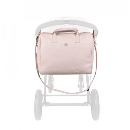 bolsa canastilla de la coleccion little star de pasito a pasito en el color rosa