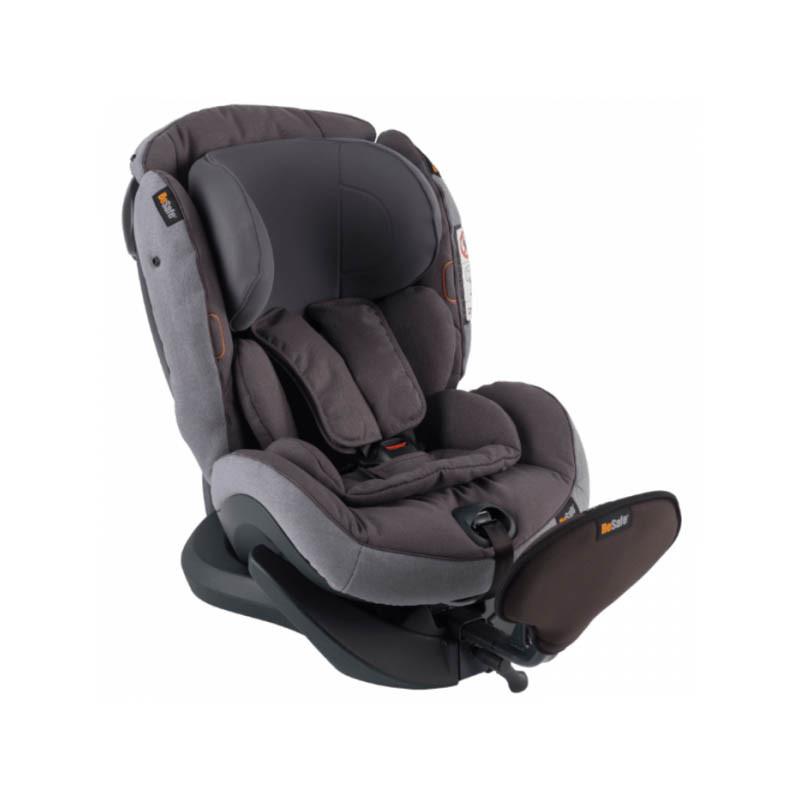 silla de coche izi plus x1 de besafe en el color metallic melange