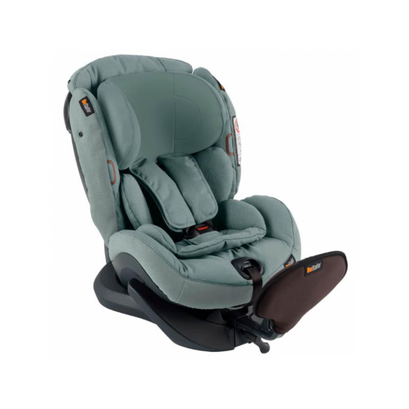 silla de coche izi plus x1 de besafe en el color sea green melange