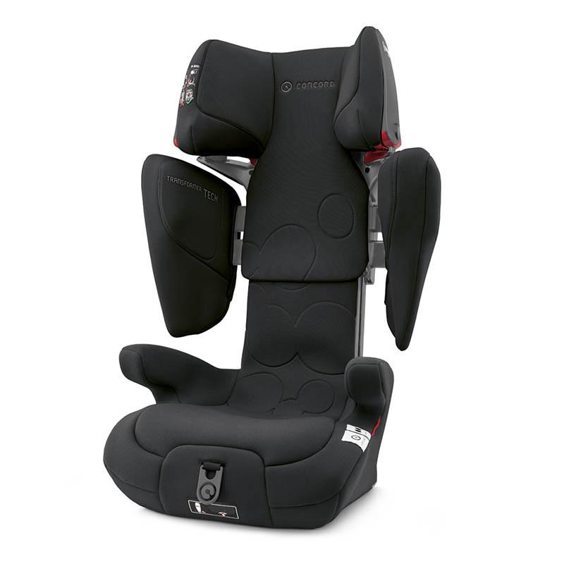 silla de coche transformer tech de concord en el color shadow black