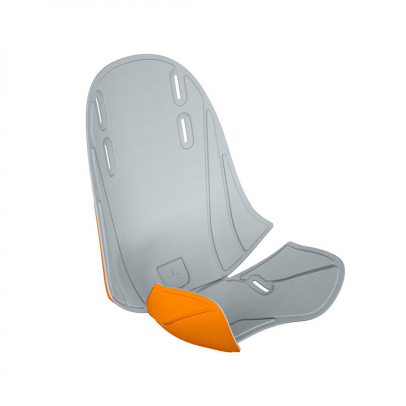 acolchado para thule ridealong mini en el color gris naranja