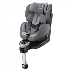 silla de coche zero.1 i-size de recaro en el color aluminium grey