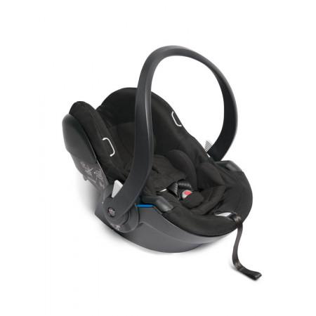 silla coche color grey chasis negro babyzen