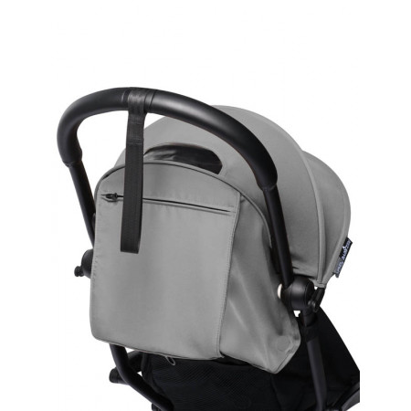 silla color grey chasis negro babyzen