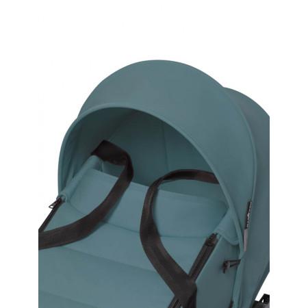 yoyo2 cochecito bassinet color aqua chasis blanco