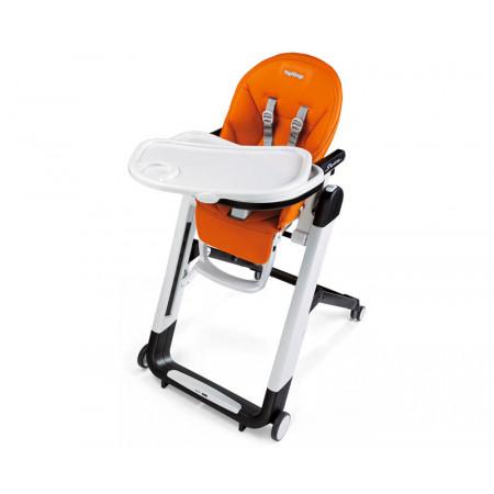 Trona siesta de la marca peg perego. Color arancia