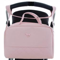 bolso de paseo 3502 en el color rosa de uzturre