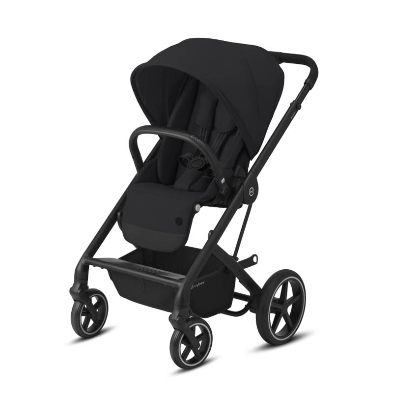 silla balios s lux de cybex chasis negro color deep black