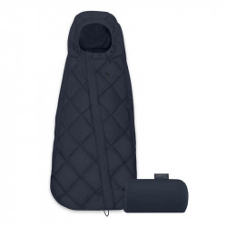 saco de silla mini snogga de cybex en el color nautical blue