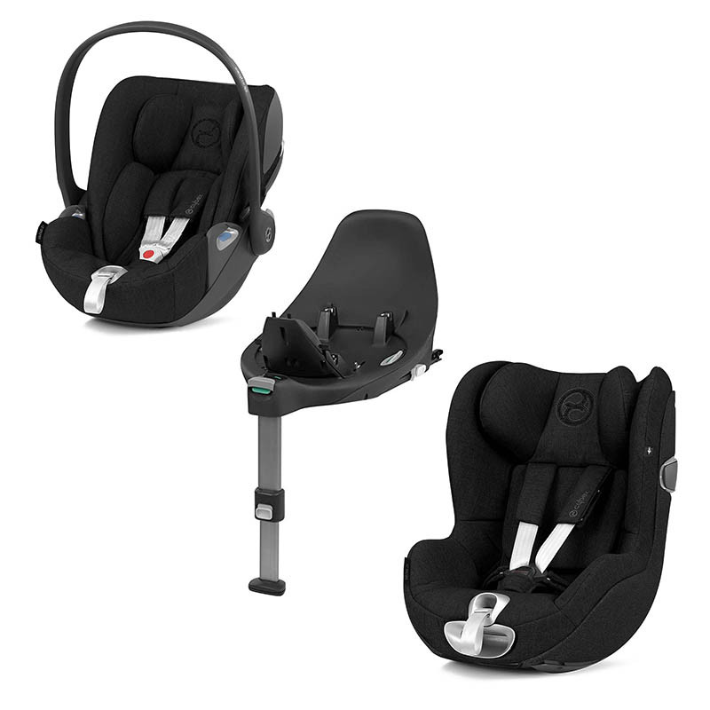 pack z de cybex en deep black plus