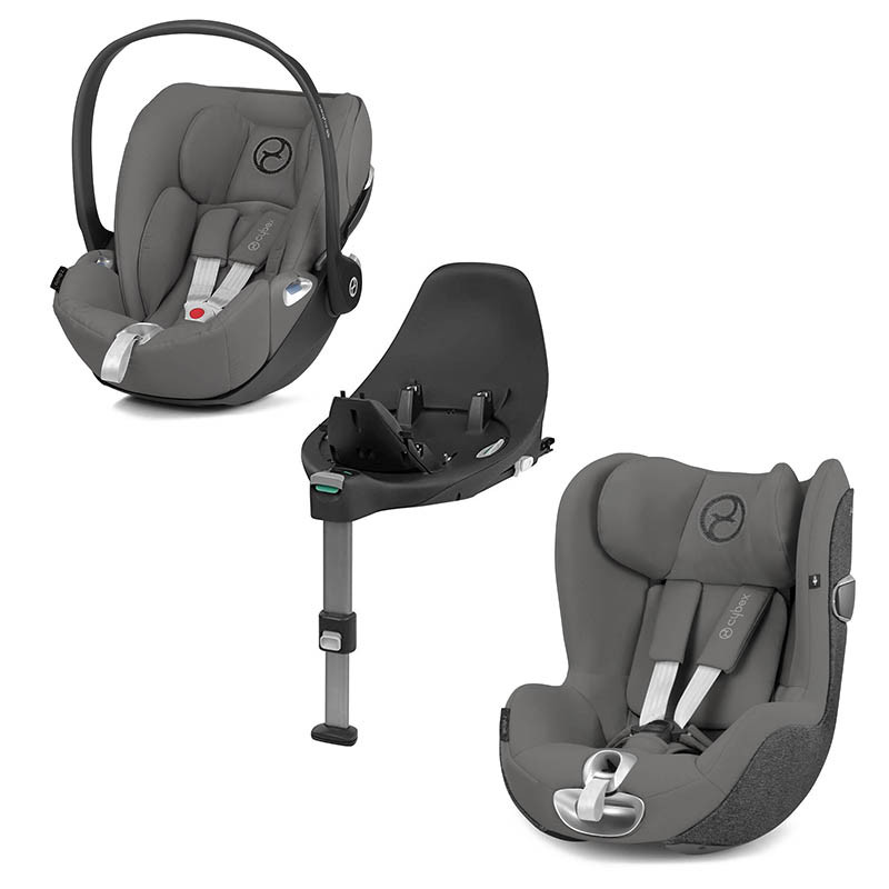 pack z de cybex en soho grey
