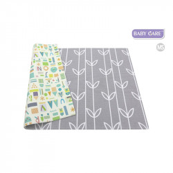 Baby care alfombra sea petals grey