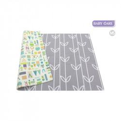 Baby care alfombra sea petals grey