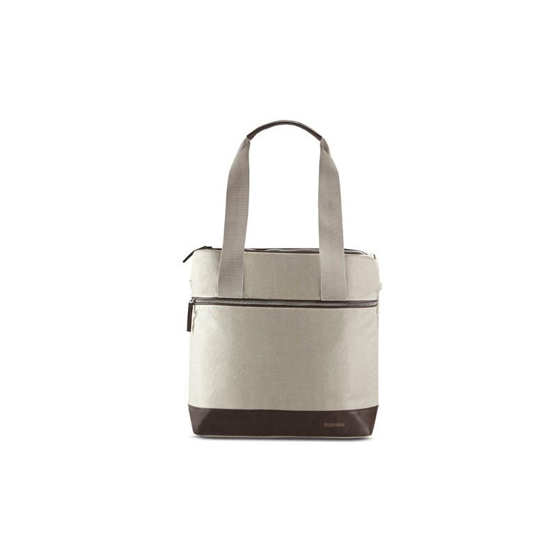 bolso aptica back bag de inglesina en el color cashmere beige