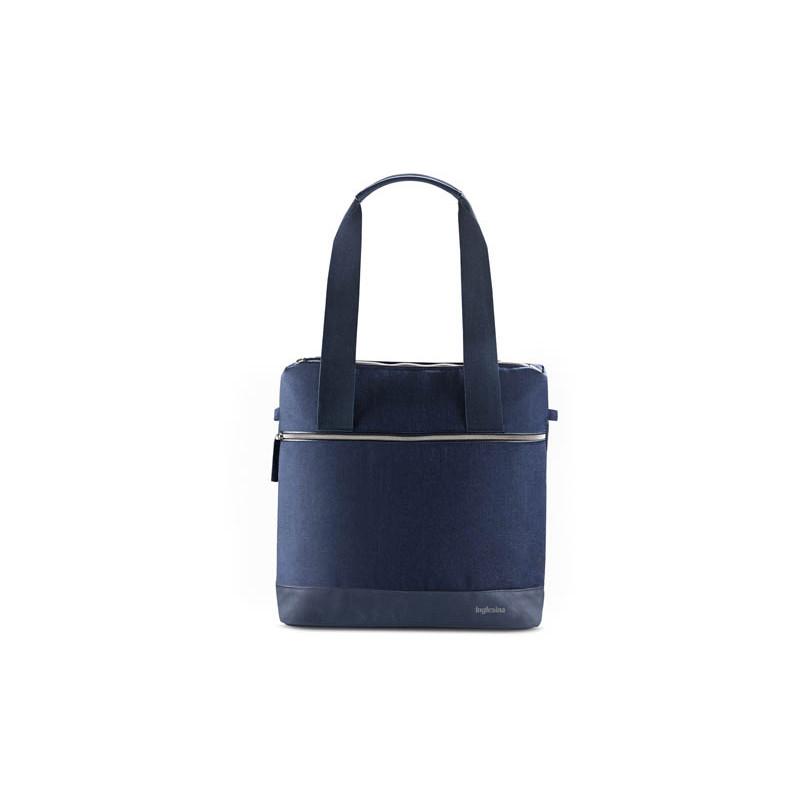 bolso aptica back bag de inglesina en el color portland blue