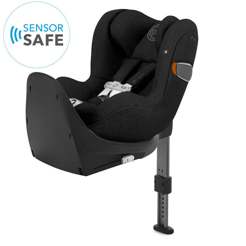 silla de coche sirona zi i-size con sensorsafe en color deep black plus