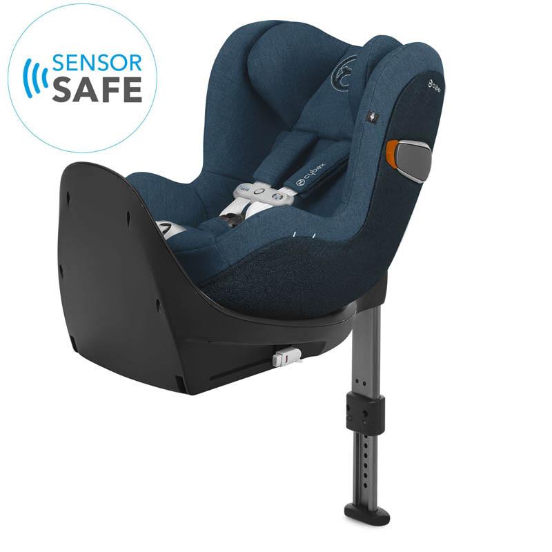silla de coche sirona zi i-size con sensorsafe en color mountain blue