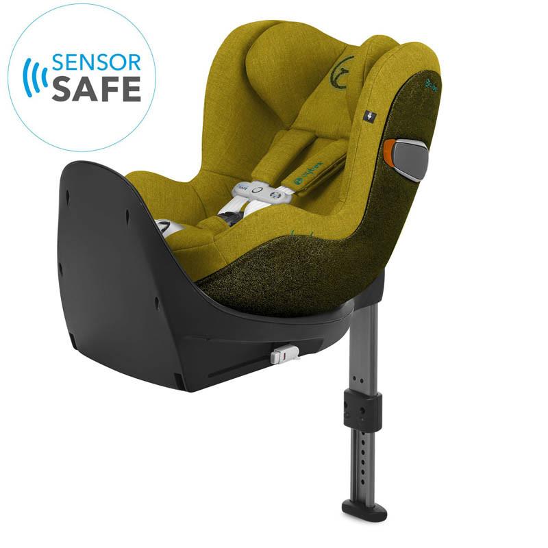 silla de coche sirona zi i-size con sensorsafe en color mustard yellow