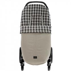 saco para silla de paseo mateo 5200 de uzturre en color gris