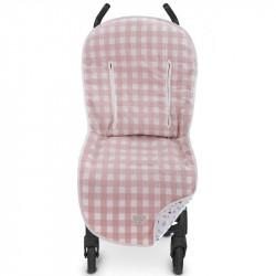 funda para silla de paseo ft00 mateo de uzturre en el color rosa