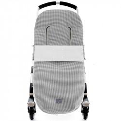 saco para silla de paseo vichy 5200 de uzturre en color blanco