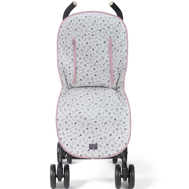 funda para silla de paseo julieta ft00 en el color rosa