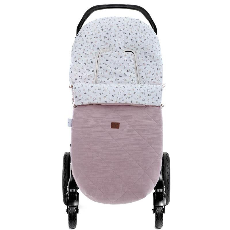 saco de verano para silla de paseo NW Julieta 5200 de Uzturre en color rosa