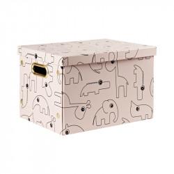 caja de almacenaje de done by deer en color powder