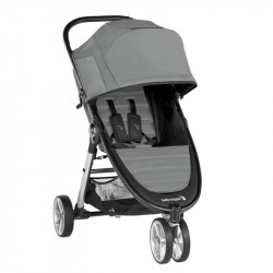 city mini 2 con tres ruedas de baby jogger en el color slate