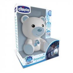 luz de compañia dreamlight de chicco en color azul