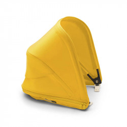 capota extensible para bee 6 de bugaboo en color amarillo limon