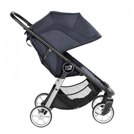 silla de paseo city mini 2 de cuatro ruedas en el color carbon