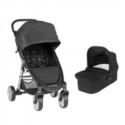cochecito city mini 2 cuatro ruedas de baby jogger en color jet