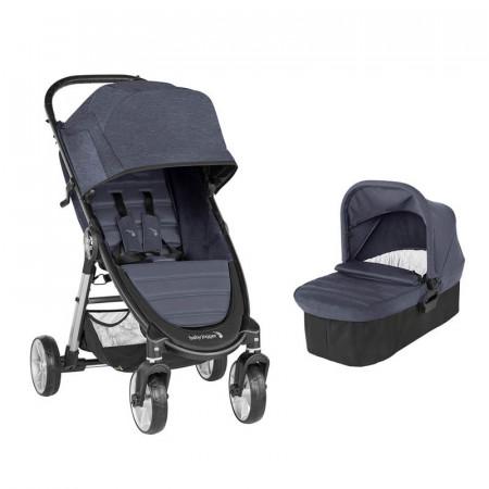 cochecito city mini 2 cuatro ruedas de baby jogger en color carbon