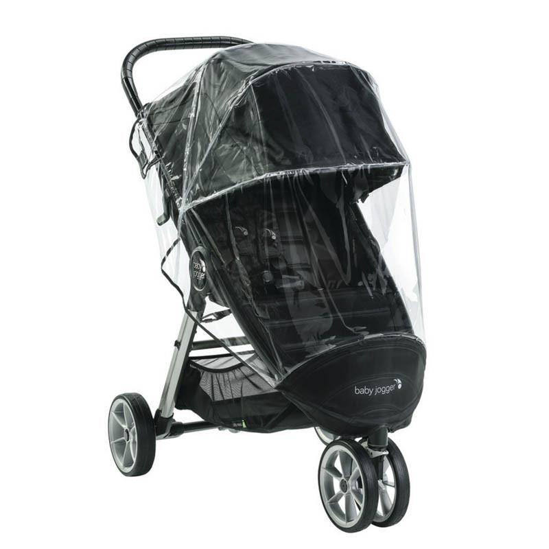plastico de lluvia para la silla de paseo city mini 2 con 3 ruedas de baby jogger