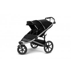 silla de paseo gemelar urban glide 2 en el color jet black