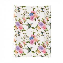 cambiador colchoneta ceba baby flora y fauna flores