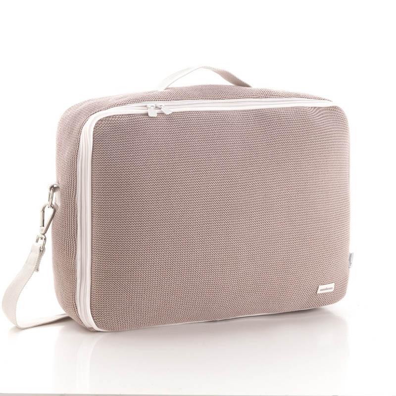 bolso de maternidad london de cambrass en el color rosa