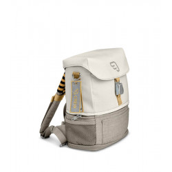 mochila crew backpack de stokke en el color blanco