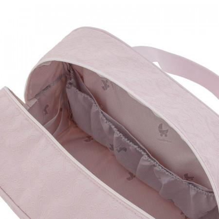 bolso maternidad elite de cambrass en color rosa