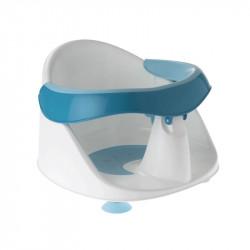 asiento de bañera de planet baby en azul