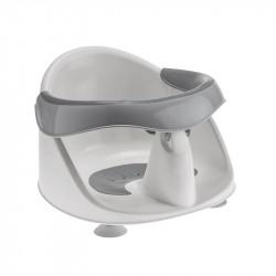 asiento de bañera de planet baby en gris