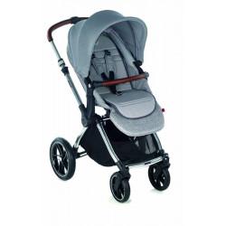 kawaii silla de paseo de jane en dim grey capota elastica