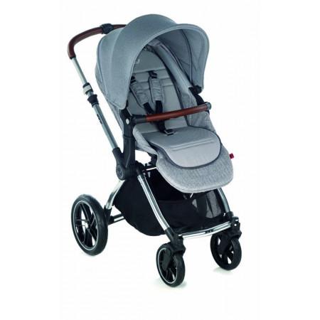 silla de paseo kawai en el color dim grey con capota elastica