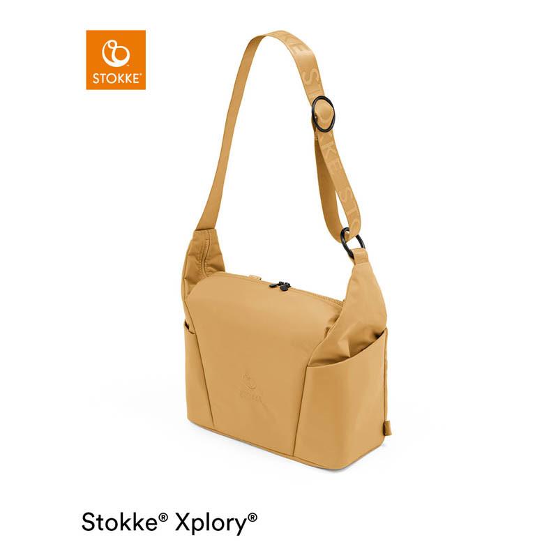 bolso cambiador para xplory x de stokke en el color golden yellow