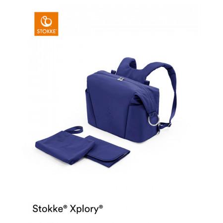 bolso cambiador para xplory x de stokke en el color royal blue